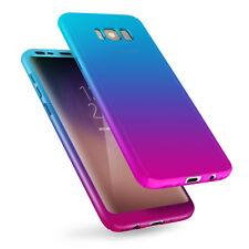 For Samsung Galaxy S8 UltraThin 360° Shockproof Full Body Hybrid Hard Case Cover