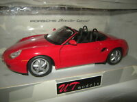 1:18 UT Porsche Boxster Cabrio rot/red 1996 Typ 986 Nr. 180065830 OVP