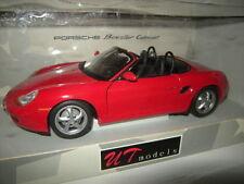 1:18 ut Porsche Boxster Cabrio Rosso/Red 1996 tipo 986 n. 180065830 OVP