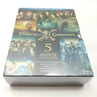 Pirates of the Caribbean 1-5 Blu-ray Box Set Complete All 5-Movie Collection New