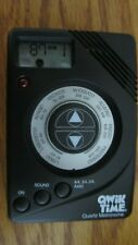 Qwik Time Qt-7 Quartz Metronome with Digital Display