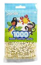 1000 Perler Creme (Cream) Color Iron On Fuse Beads  80-19002