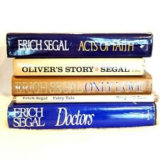 Lot 5 1st Ed Erich Segal Books Oliver's Story Doctors Faith Fairy Tale Only Love