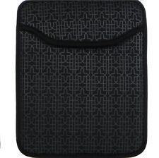 Studio C Tech Medallion iPad/Tablet Sleeve up to 10in, Neoprene, Black (29856)