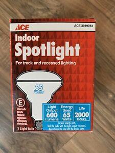 New Ace Indoor Spotlight Floodlight Bulbs 65 watt 600 Lumens