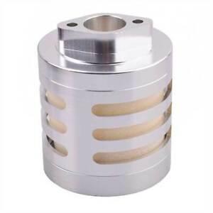 RC Aluminum Air Filter Silver w/Sponge For RC HPI 1:5 Engine Baja 5B 5T KM Rovan