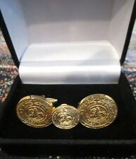 Great Seal of the Confederacy - CSA - Civil War Cuff Links - Boxed Set