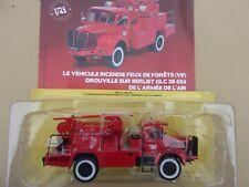 N° 94 BERLIET GLC 28 Camion Pompiers Armée de l'Air Feux de Forêts VIF 1/43 Neuf