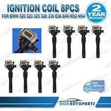 8 ignition coils suit BMW 740i 735iL 740iL E38 840Ci E31 M62B44 M62B35 3.5L 4.4L