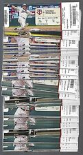2016 MLB MINNESOTA TWINS BASEBALL COMPLETE SEASON FULL TICKETS - 81 TIX