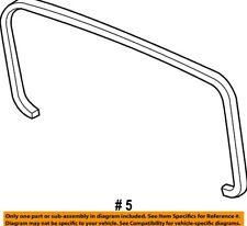 HONDA OEM 03-11 Element Liftgate Tailgate Hatch-Rear Glass Trim 84460SCVA00 USED
