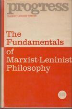 The Fundamentals of Marxist-Leninist Philosophy - HC DJ USSR 1st Pr. 1974 - RARE