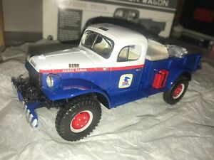 FIRST GEAR U S MAIL 1949 DODGE POWER WAGON PICKUP TRUCK & MAIL LOAD MINT!!!!