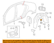 GM OEM Interior-Front Sill Plate Retainer 94530387
