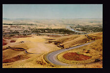 76 Union Oil vintage Snake & Clearwater Rivers Lewiston Hill Idaho postcard