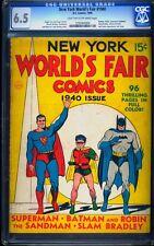New York World's Fair 1940 CGC 6.5 Golden Age Key DC Comic L@@K
