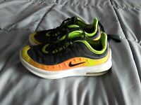 Nike Air Max Axis, Black/Volt/Orange - Size  11.5C AV7592-001 Rare used LU2
