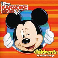 Disney Karaoke Serie - Disney's Karaoke Series: Children's Favorite Songs [New C