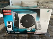 Logitech Z-2300 Subwoofer Only. Tested And Working. Original Box Included