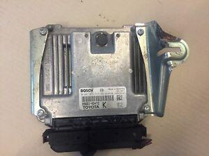 TOYOTA YARIS 1.4 ENGINE CONTROLLER ECU D4D BOSCH 0281012519 896610D472 K