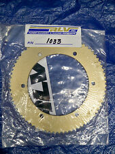 RLV #219 Gold one piece axle sprocket P/N 1033 74 tooth