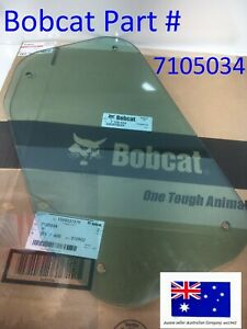 Roof Top Cab Window for Bobcat OEM New 7105034 T180 T190 T200 T250 T300 T320