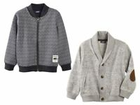 Boys' Sweat Jacket Elegant Navy Gray 12 24 m 2 3 4 5 6 Years  Cardigans Jumpers