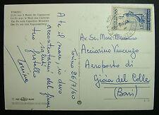 1960  ITALIA  15 lire   Olimpiadi   Cartolina Viaggiata