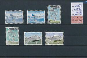 LN67734 Belgium 1960 parachute aviation fine lot MNH cv 22,5 EUR