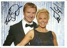 Dancing On Ice Tour Torvill & Dean Autograph Photo PRINT 7 x 5  Ice Skating