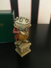 "Disney ""The Fabulous Mr. Toad� by Harmony Kingdom"