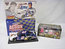 Elvis Action Platinum Series 1/24 #2 Diecast NASCAR Bank Matchbox Favorite Cars