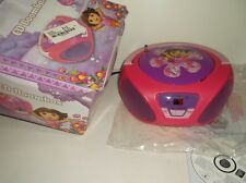 021331584458  Dora The Explorer CD Player Boom Box