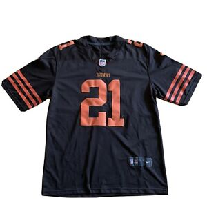 Men's Cleveland Browns Denzel Ward Nike Brown Alternate Jersey Size XL