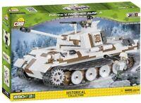 Spielset Carro Bewaffnete Panther Ausf. A Gebäude COBI 2511 Bausteine 490 Stücke