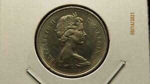1968 Canada Elizabeth II 25C Nickel 105