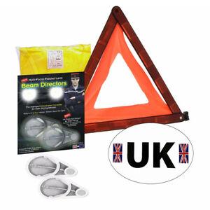 Travel Abroad Euro Warning Triangle Kit European Driving EU Emergency Car eu