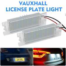 LED License Number Plate Light For Vauxhall Corsa C D Astra H J Insignia Vectra