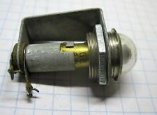 Dyna-Quik model 650 Tube Tester Fuse lamp # 44 with holder assembly p.