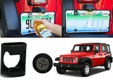 Rear License Plate Mounted Beer Bottle Opener For 2007-2017 Jeep Wrangler JK New