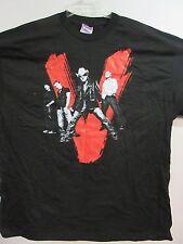 NEW - U2 BONO EDGE CLAYTON MULLEN BAND / CONCERT / MUSIC T-SHIRT 2XL / X X LARGE