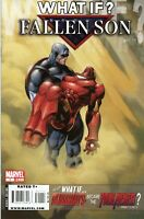 What If? Fallen Son - Death of Iron Man Marvel Comics 2008 Ed McGuinness cover