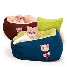 New Pet Dog Cat House Sofa Bed House Mat Cushion Deep Sleeping Bag Puppy Kitty