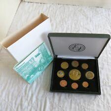 More details for estonia 2004 9 coin euro prototype pattern proof set - boxed/coa