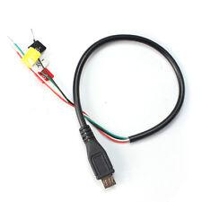 SJ4000 Micro USB am AV-OUT FPV Kabel für SJ 4000 Kamera F15787