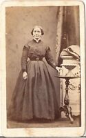 C. Boepple CDV photo Feine Dame - Uetersen 1860er