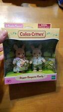 Calico Critters Hopper Kangaroo Family Epoch 3 Posable Figures BRAND NEW READ