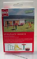 Busch 1163 Bausatz Spielplatz Geräte Set HO Scale 1 87 NEU OVP