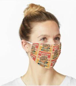 Face Mask Unique Design Black Lives Matter. Washable.Reusable TAYOTHECREATOR