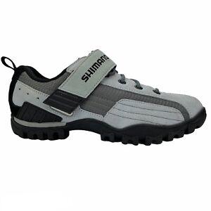 Shimano SH-MT40WL Cycling Shoes Women's Size US 7.5 Suede Gray